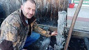 Fidanlar buz tuttu, güneş enerji sistemleri patladı