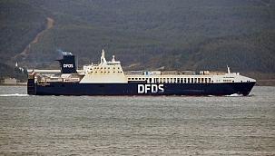 """""""Gallipoli Seaways"""" isimli Ro-Ro gemisi, İstanbul'a dönüyor"""