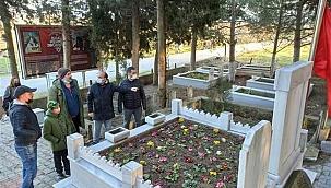Mehmet Çavuş'u canlandıran Orhan Kılıç'tan anlamlı ziyaret
