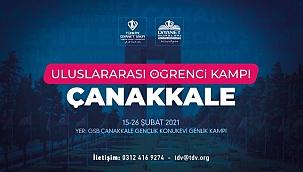 Türkiye Diyanet Vakfının uluslararası öğrenci kampı Çanakkale'de yapılacak
