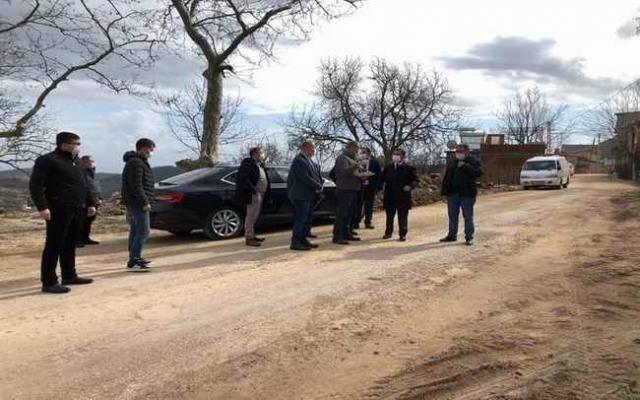 Vali Aktaş, Ahmetçe Köyü için gerekli talimatı verdi