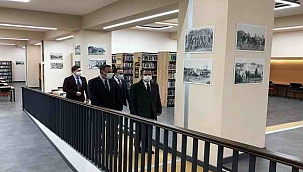 Vali Aktaş, Mehmet Akif Ersoy İl Halk Kütüphanesinde