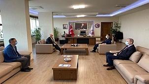 Vali Aktaş'tan Rektör Murat'a ziyaret