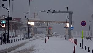 Yarınki ada seferleri kar nedeniyle iptal