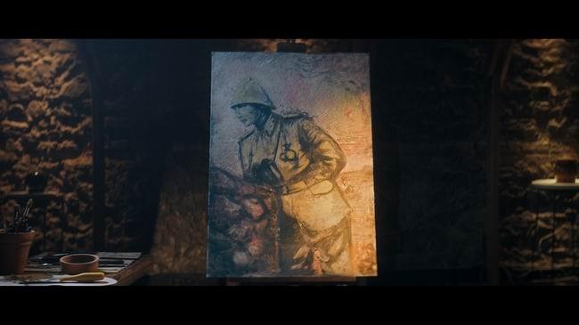 18 Mart Çanakkale Zaferi vatan toprağıyla resmedildi