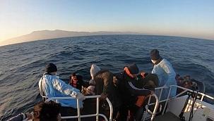 69 düzensiz göçmen kurtarıldı