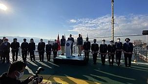 Bakan Karaismailoğlu, Denizcilik Bölümü Kız Öğrencilerine Yönelik Fırsat Eşitliği İşbirliği Protokolü töreninde konuştu