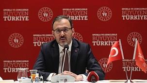 """Bakan Kasapoğlu: """"Pandemiyi fırsata çevirdik"""""""
