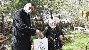 """Başkan Bülent Öz: """"Büyüklerimizi ziyaret ediyoruz"""""""