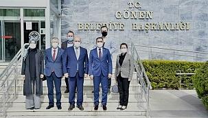 Başkan Erdoğan'ın Gönen ziyareti