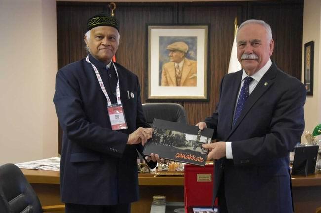 Başkan Gökhan, Bangladeş Büyükelçisi Mannan'ı ağırladı