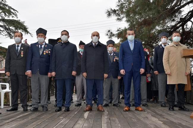 Biga'da Çanakkale Zaferi'nin 106.yılı töreni