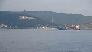 Boğaz tek yönlü gemi trafiğine kapatıldı