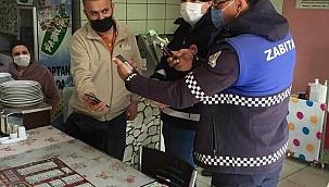 Çan Belediye zabıta ekipleri halkla iç içe olmayı sürdürüyor