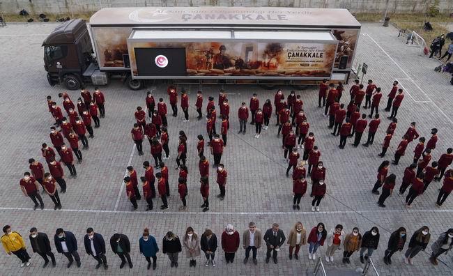 Çanakkale Savaşları mobil müzesi Türkiye turuna devam ediyor