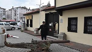 Çanakkale savaşlarında kullanılan tarihi top Edremit'te restore edilecek