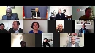 CHP lideri Kılıçdaroğlu, şehit aileleri ve gazilerle görüştü