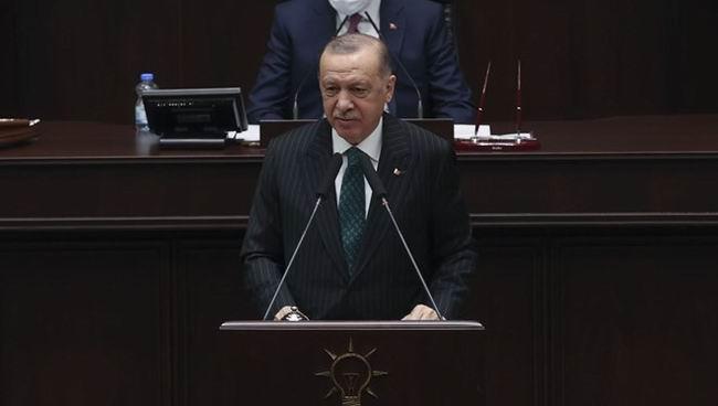 """Cumhurbaşkanı Erdoğan: """"2021 yılı 5 siyasi partinin ortak teklifiyle 'İstiklal Marşı Yılı' ilan edildi"""""""