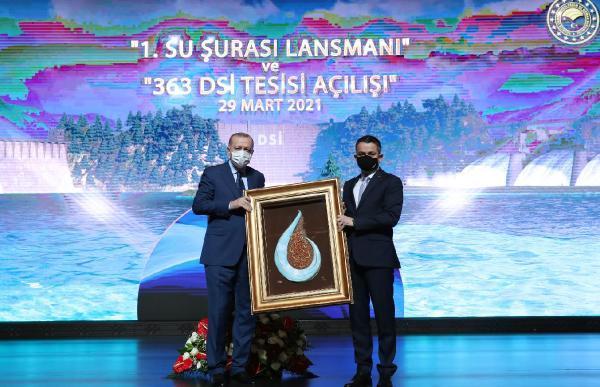 """Cumhurbaşkanı Erdoğan: """"Meclis'te bir su kanunu hazırlıyoruz"""""""
