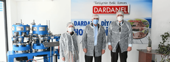 Dardanel'e destek ziyareti