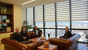 Denizbank Trakya bölge müdüründen ÇTSO'ya ziyaret