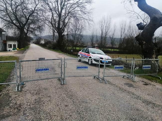 Derenti köyü karantinaya alındı