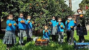 Efe torunlarından, şehit torunlarına portakal
