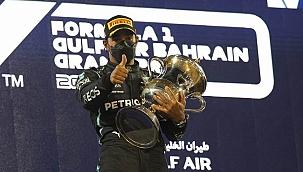 Formula 1'de sezonun ilk yarışı Lewis Hamilton'ın