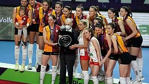 Galatasaray CEV Kupası'nda ikincilik madalyasını aldı
