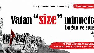 """""""Güce teslim olmayan inançlı ve azimli bir milletin zaferidir 18 Mart"""""""