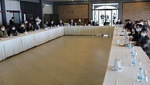 İl Pandemi Kurulu Vali Aktaş başkanlığında toplandı