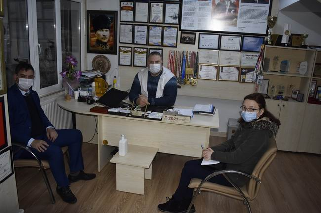 İŞKUR yetkilileri, hibe destekleri kapsamında sakatlar derneğini ziyaret etti
