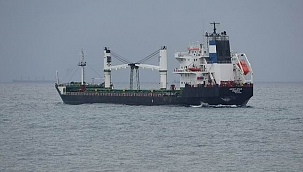 Karaya oturan kargo gemisi için kurtarma çalışması başlatıldı