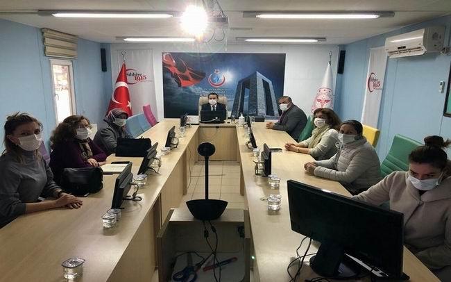 Koronavirüsle mücadele toplantısı yapıldı