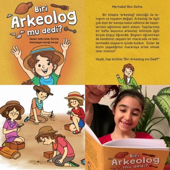 """Kültür ve Turizm Bakanlığı'ndan """"Biri Arkeolog mu dedi"""" hikaye kitabı"""