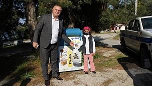 Minik Elif talep etti, Başkan Oruçoğlu gerçekleştirdi