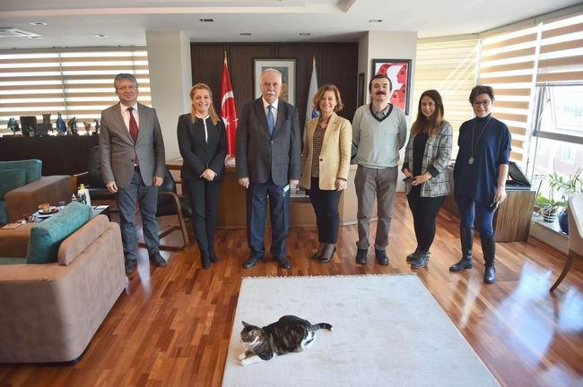 Safranbolu Belediye Başkanı'ndan Başkan Gökhan'a ziyaret