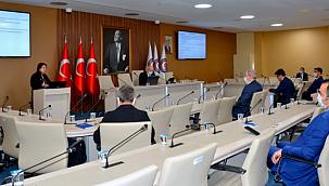 Sürdürülebilir Tekstil Projesi toplantısı yapıldı