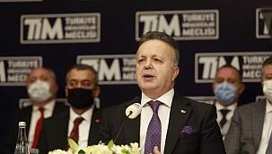 """TİM Başkanı Gülle: """"15 yılda ihracatımız büyük ivmeyle artacak"""""""
