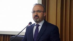 """Turan: """"Sayın Kılıçdaroğlu ve Sayın Akşener'e sitem ediyorum"""""""