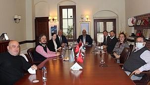 Ukrayna Büyükelçisi Andrii Sybiha ÇASİAD'ı ziyaret etti