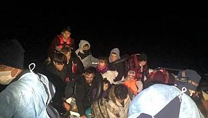 18 göçmen ölümden döndü