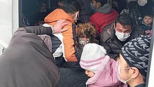 38 düzensiz göçmen yakalandı, 2 organizatör tutuklandı