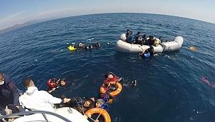 40 düzensiz göçmen, Yunanistan unsurlarınca ölüme terk edildi