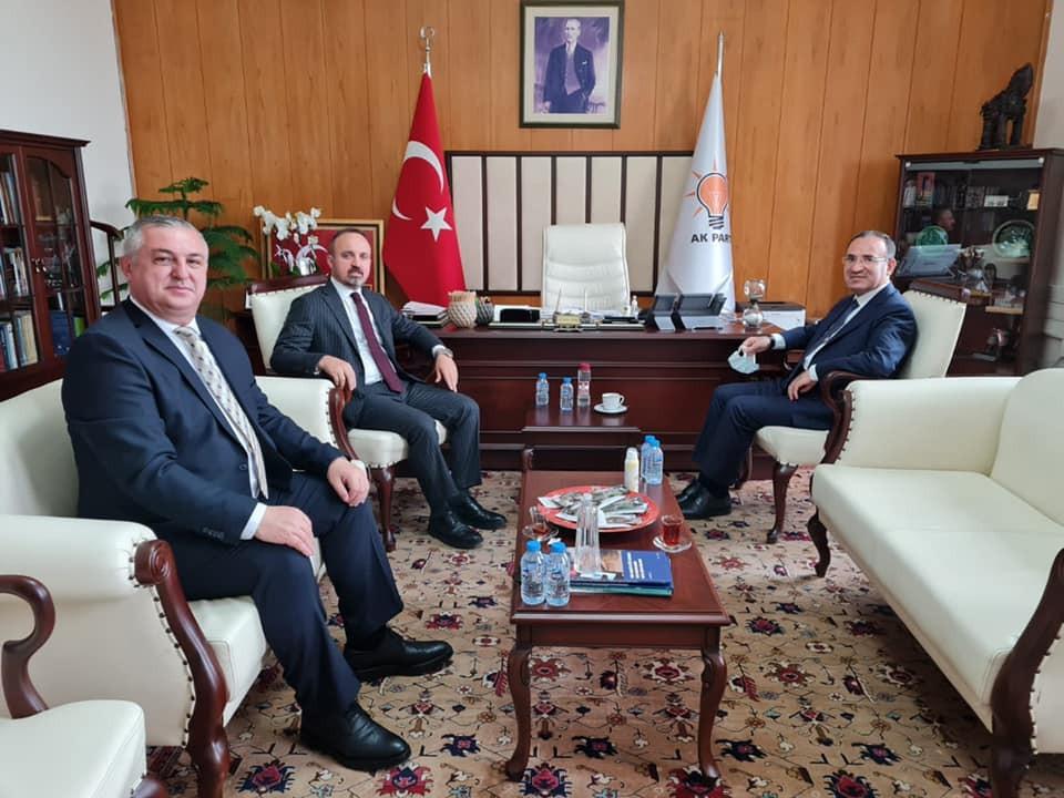 Başkan Oruçoğlu, Ankara'dan müjdeyi verdi