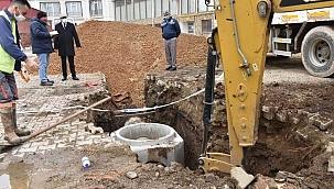 """Başkan Öz: """"Kanalizasyon sorununu çözüyoruz"""""""