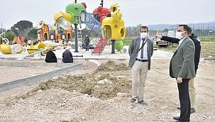 Biga Adapark projesinde sona gelindi