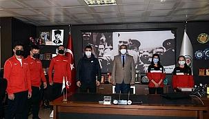 Çan Belediyesi güreşçileri milli takım seçimlerine gidiyor