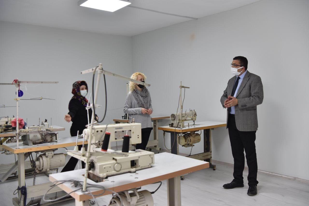 Çan belediyesi tekstil atölye projesi hayata geçiyor