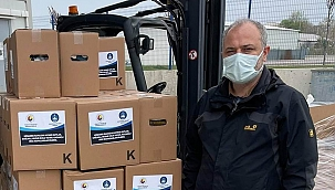 ÇTB'dan 800 aileye gıda yardımı